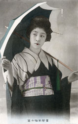 161217-0037 - Geisha with Umbrella