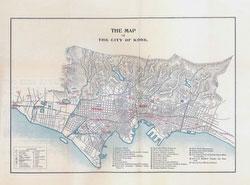 70305-0020 - Map of Kobe 1912