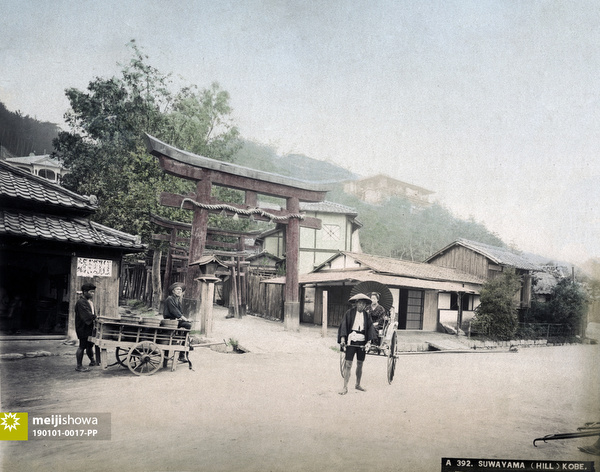 190101-0017-PP - Torii at Suwa Shrine