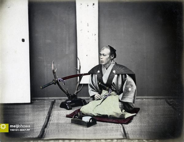 190101-0047-PP - Seated Samurai