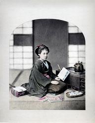 190102-0036-PP - Japanese Woman in Kimono