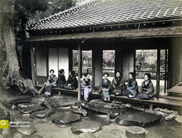 190103-0002-PP - Women at a Tea House