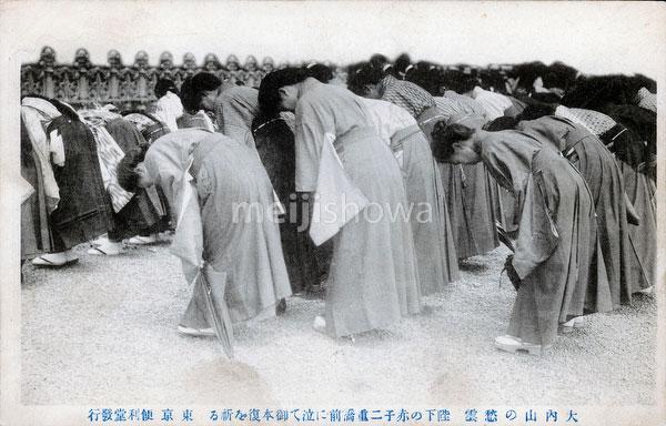70314-0012 - Prayers for Emperor Meiji