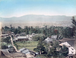 70319-0004 - View on Kyoto