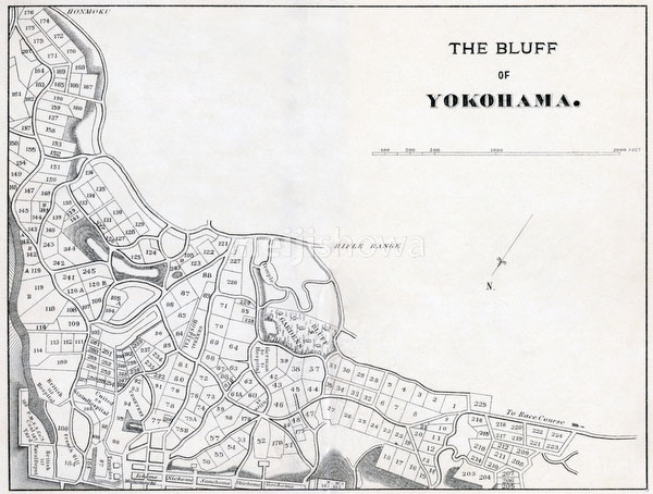 70405-0002 - Map of Yokohama 1890