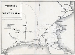 70405-0004 - Map of Kanagawa 1890