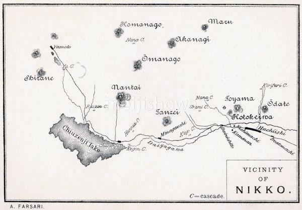 70405-0008 - Map of Nikko 1890