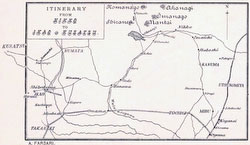 70405-0009 - Map of Tochigi and Gunma 1890