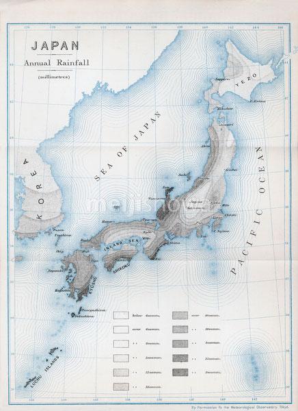 70411-0003 - Map of Rainfall 1903