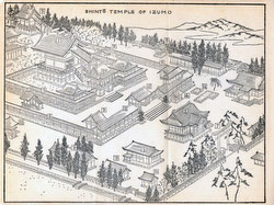 70411-0004 - Map of Izumo Taisha 1903