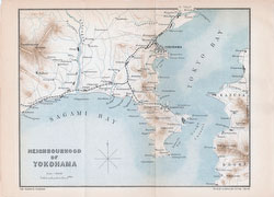 70411-0007 - Map of Kanagawa 1903