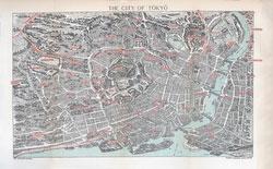 70411-0008 - Map of Tokyo 1903