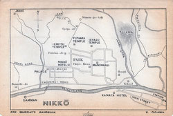 70411-0013 - Map of Nikko 1903