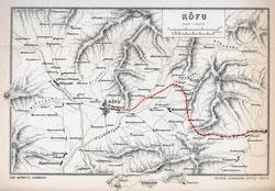 70411-0016 - Map of Yamanashi 1903