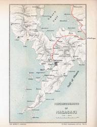 70411-0022 - Map of Nagasaki