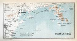70411-0024 - Map of Matsushima 1903