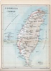 70411-0026 - Map of Taiwan 1903
