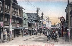 70419-0011 - Street near Minatogawa Jinja