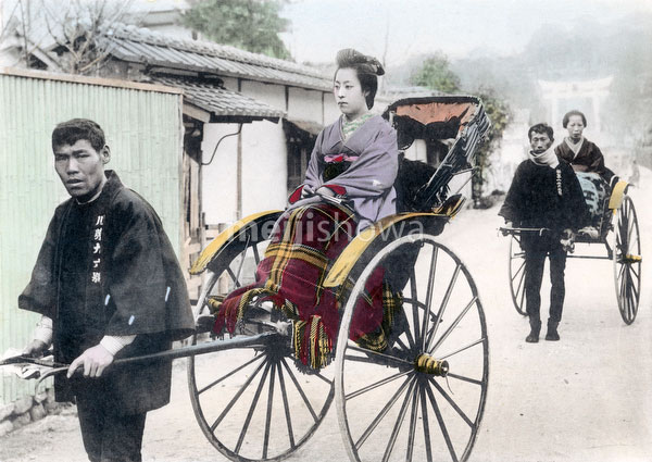 70421-0023 - Bride in Rickshaw