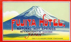 70423-0023 - Fujiya Hotel Label