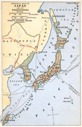 70424-0001 - Map of Japan 1920