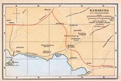 70424-0005 - Map of Kamakura 1920