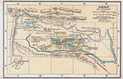 70424-0011 - Map of Nikko 1920