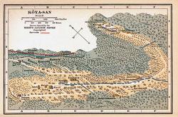 70424-0017 - Map of Mount Koya 1920