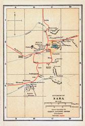 70424-0019 - Map of Nara 1920