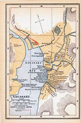 70424-0024 - Map of Nagasaki 1920