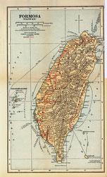 70424-0027 - Map of Taiwan 1920