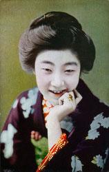 70507-0004 - Woman in Kimono