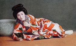 70507-0006 - Woman in Kimono