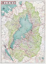 70509-0001 - Map of Shiga 1935