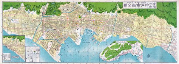 70509-0003 - Map of Kobe 1929